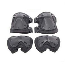 Military Tactical Knee Pads of X-type Knee Protector Support for CS and Extreme Sports