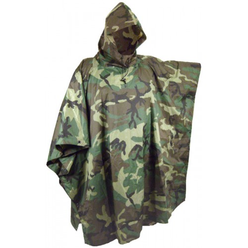 Camouflage Poncho QDS9GHH