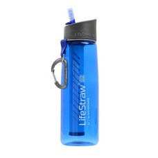 Lifestraw Go Personal Water Purifier Water Bottle-Blue (Size-650 ml)